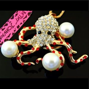 BETSEY JOHNSON~ Octopus Necklace